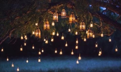 Décoration : installer des lumières pour mettre en valeur son jardin
